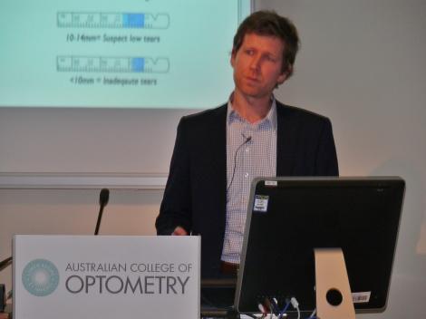 College of Optometry Dry Eye Disease Cataract Refractive Surgery Talk